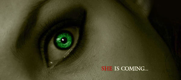 She is coming...